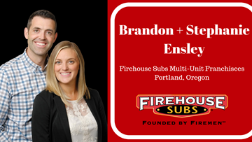 Former Airline Pilot Opens Firehouse Subs with his Wife to Stay Closer to Home